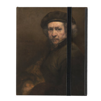 Self-Portrait with Beret by Rembrandt iPad Folio Case