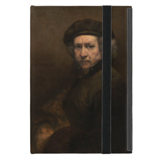 Self-Portrait with Beret by Rembrandt iPad Mini Cases