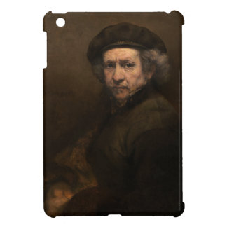 Self-Portrait with Beret by Rembrandt iPad Mini Cover