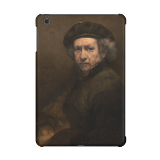 Self-Portrait with Beret by Rembrandt iPad Mini Retina Covers