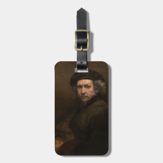 Self-Portrait with Beret by Rembrandt Tag For Bags