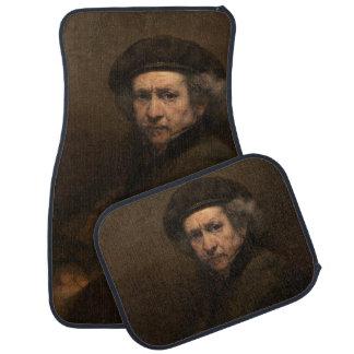 Self-Portrait with Beret by Rembrandt Car Mat