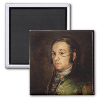 Self Portrait with Glasses, 1788-98 Magnet