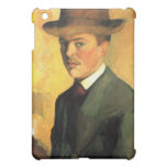Self-Portrait with Hat by August Macke Case For The iPad Mini