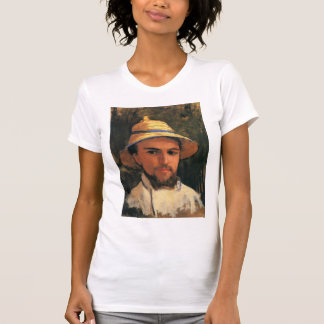Self-Portrait with Helmet by Gustave Caillebotte Tshirt