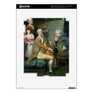 Self Portrait With his Daughter, Maria Theresa (?) iPad 3 Skin