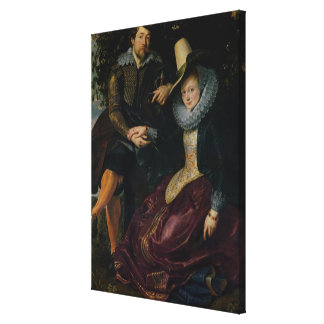 Self portrait with Isabella Brandt Canvas Print