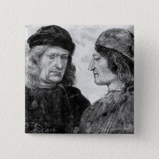 Self portrait with Niccolo Franceschi Button