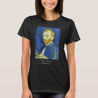 Self Portrait with Pallette vincent van gogh T-Shirt