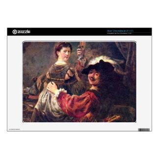Self-Portrait with Saskia by Rembrandt Acer Chromebook Skins