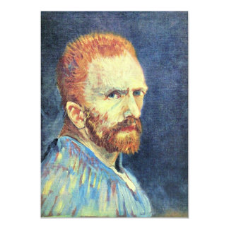 Self-Portrait with short hair by Vincent van Gogh Card