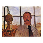 Self-Portrait With Skeleton By Corinth Lovis (Best Personalized Invite