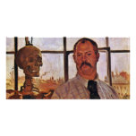 Self-Portrait With Skeleton By Corinth Lovis (Best Photo Cards