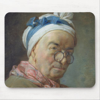 Self Portrait with Spectacles, 1771 Mouse Pad
