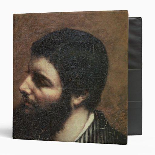 Self Portrait with Striped Collar Vinyl Binder