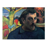 Self-Portrait With Yellow Christ By Gauguin Paul Post Card