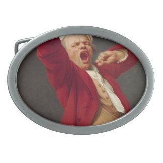 Self-Portrait, Yawning - Joseph Ducreux Belt Buckles
