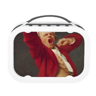 Self-Portrait, Yawning - Joseph Ducreux Yubo Lunchbox