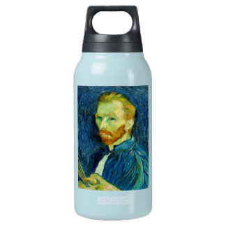 Self Portriat Vincent Van Gogh 1889 Insulated Water Bottle
