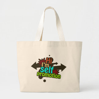 Self Promotion - One Large Tote Bag
