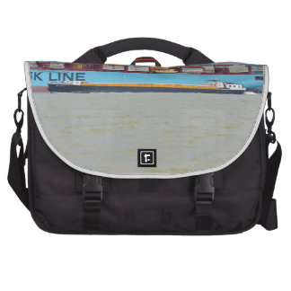 Self propelled barge SWS London Laptop Messenger Bag