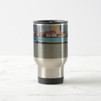 Self propelled barge SWS London Travel Mug