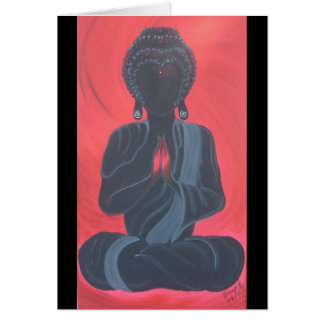 Self Reflection-Buddha Series Areeyaworld Art Card
