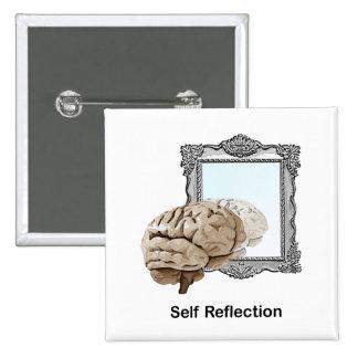 Self Reflection Pinback Button