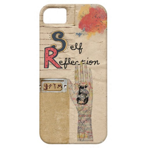self reflection iphone 5 case