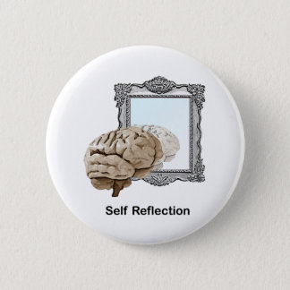 Self Reflection Pinback Button