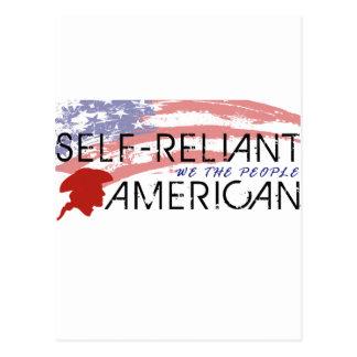 Self-Reliant Americans Postcard
