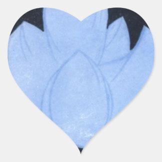 Self-renunciation Heart Sticker