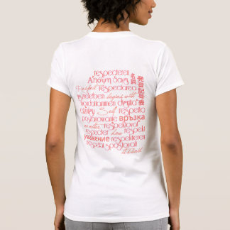 Self Respect Coral Sunrise Tshirts