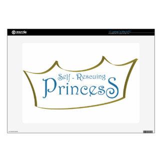 Self-Resuing Princess Laptop Skin