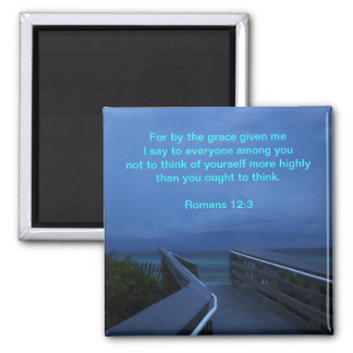 SELF-RIGHTEOUSNESS 2 INCH SQUARE MAGNET