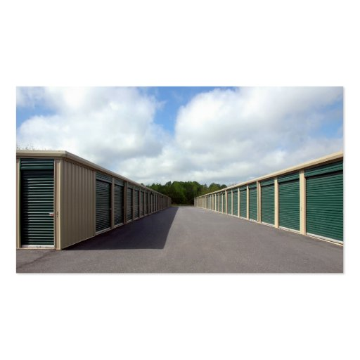 Self Storage Warehouse Business Card Template