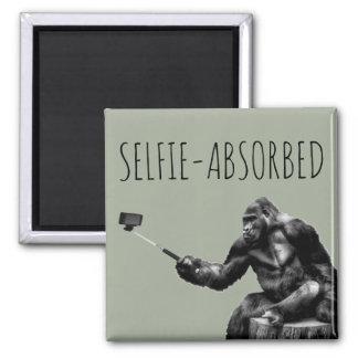 Selfie-Aborbed Magnet