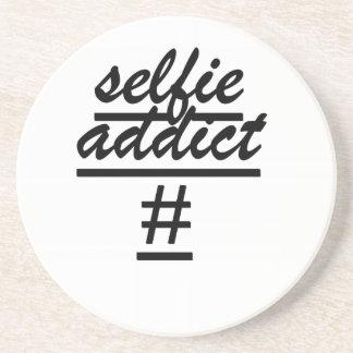 Selfie Addict Coasters