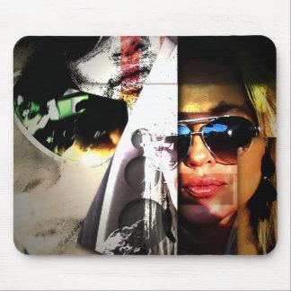 Selfie Art - Kristy by Buddy Sears Mouse Pad