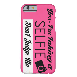 Selfie Barely There iPhone 6 Case