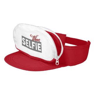 Selfie Cap-Sac Visors Visor