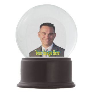 Selfie Create Your Own Graphics Snow Globe
