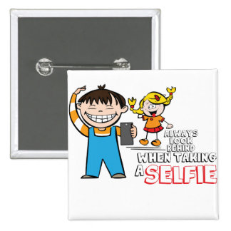 Selfie danger pin