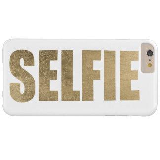 Selfie de oro funda barely there iPhone 6 plus