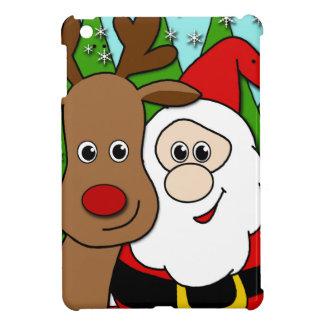 Selfie de Santa y de Rudolph
