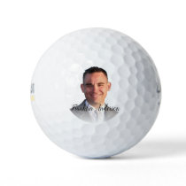 Selfie Monogram Create Your Own Photo Template Golf Balls