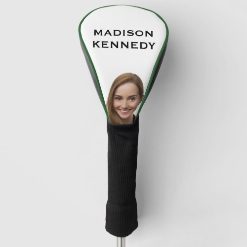 Selfie Monogram Golfer Create Your Own Golf Head Cover
