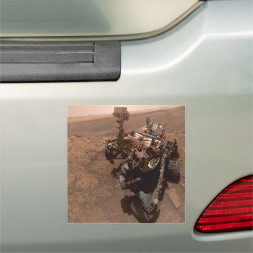Selfie NASA Mars Curiosity Rover Laboratory Car Ma Car Magnet