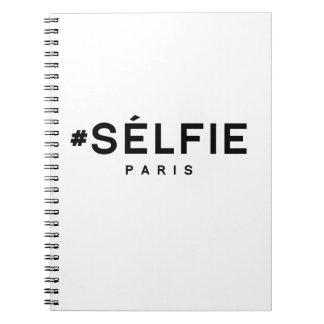 SELFIE PARIS SPIRAL NOTE BOOKS