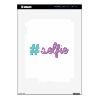 # Selfie Pegatina Skin Para iPad 3